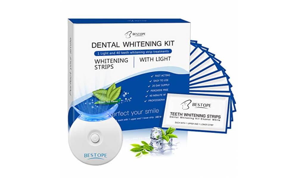 BESTOPE-40Pcs-White-Stripes-mit-LED-Zahnaufhellung-Licht-Bleaching-Strips-Teeth-Whitening-Kit-1000-600